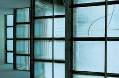 Vidrio azul fotografía de archivo