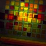 Vidrio coloreado Fotos de archivo libres de regalías