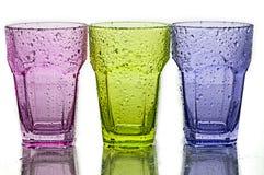 Vidrio coloreado Imagenes de archivo