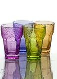 Vidrio coloreado Fotografía de archivo