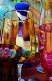 Vidrio colorido Fotografía de archivo libre de regalías