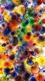 Vidrio colorido Fotografía de archivo