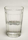 Vidrio con agua Imagen de archivo libre de regalías