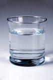 Vidrio con agua Fotografía de archivo libre de regalías