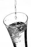 Vidrio con agua Fotografía de archivo