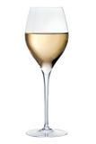 Vidrio con el vino blanco Imagen de archivo libre de regalías