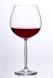 Vidrio con el vino rojo Fotos de archivo libres de regalías