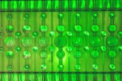 Vidrio con la abstracción hermosa de los globos multicolores foto de archivo