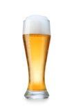 Vidrio con la cerveza Fotos de archivo