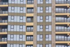 Vidrio constructivo moderno Fotografía de archivo