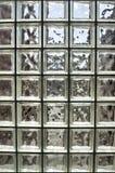 Vidrio cubicado cuadrado Foto de archivo