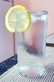Vidrio de agua Imagenes de archivo