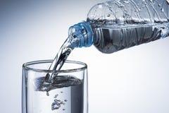 Vidrio de agua Imágenes de archivo libres de regalías