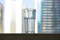Vidrio de agua Fotos de archivo libres de regalías
