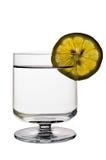 Vidrio de agua (o de licor) Imagen de archivo libre de regalías