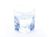Vidrio de agua puro Fotos de archivo libres de regalías