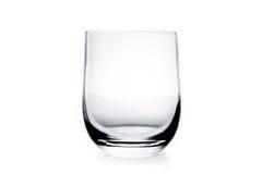 Vidrio de agua vacío Fotografía de archivo