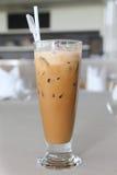 Vidrio de café de hielo Foto de archivo