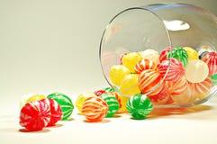 Vidrio de caramelos Imagenes de archivo