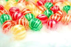 Vidrio de caramelos Foto de archivo
