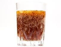 Vidrio de cerveza de centeno con hielo foto de archivo