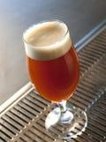 Vidrio de cerveza roja Fotografía de archivo libre de regalías