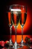 Vidrio de champán Imagen de archivo