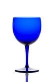 Vidrio de consumición del azul de cobalto Fotos de archivo