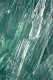 Vidrio de desecho verde Foto de archivo libre de regalías