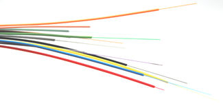 Vidrio de fibra Imagen de archivo libre de regalías