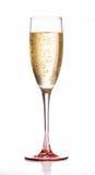 Vidrio de flauta de champán Fotos de archivo libres de regalías