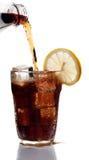 Vidrio de la bebida de la cola Fotografía de archivo libre de regalías