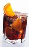 Vidrio de la bebida de la cola fotografía de archivo