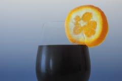 Vidrio de la bebida fría Fotografía de archivo