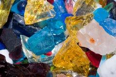 Vidrio de la escoria Imagen de archivo libre de regalías