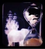 Vidrio de la hora Imagenes de archivo