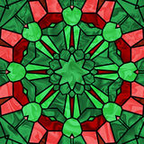 Vidrio de la Navidad stock de ilustración