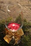 Vidrio de la Navidad Imagen de archivo libre de regalías
