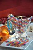 Vidrio de la oblea del arco iris Foto de archivo libre de regalías