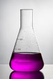 Vidrio de la química Foto de archivo