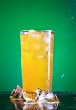 Vidrio de la soda Imagenes de archivo