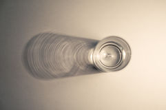 Vidrio de la vodka Foto de archivo libre de regalías