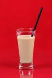 Vidrio de leche Fotos de archivo libres de regalías