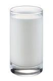 Vidrio de leche Imagen de archivo libre de regalías