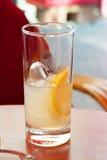 Vidrio de limonada Imágenes de archivo libres de regalías