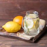 Vidrio de limonada Foto de archivo libre de regalías