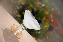 Vidrio de Martini del hielo Imagen de archivo libre de regalías