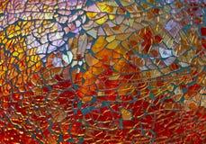 Vidrio de mosaico Foto de archivo libre de regalías