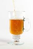 Vidrio de té Fotografía de archivo