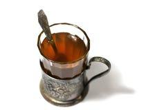 Vidrio de té Foto de archivo libre de regalías